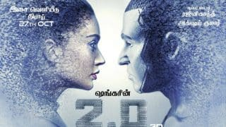 This New 2.0 Poster Featuring Rajinikanth And Amy Jackson Leaves Us Intrigued