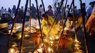 Chhath Puja 2018: Date, Time, Muhurat, Nahay Khay Puja Vidhi; All You Need to Know