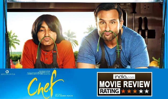 Chef Movie Review: Saif Ali Khan Serves Us Bland Starters But The Tasty Mains And Delectable Dessert Save The Experience