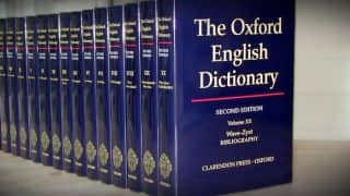 'Chuddies' Makes Way Into Oxford English Dictionary Among 650 New Words