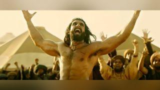 'पद्मावती' के ट्रेलर को मिली सफलता से खुश हैं रणवीर सिंह