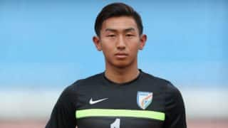 Indian Goalie Dheeraj Singh Ready to go for FIFA U-17 World Cup