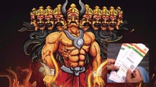 How Many Aadhaar Cards for Ravana on Dussehra 2017? UIDAI Shuts Down Twitter Troll with a Befitting Reply