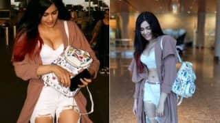 Adah Sharma Shows Massive Cleavage in Hottest Airport Look: See Pictures of Sexy Starlet in Plunging Bralette and Ripped Jeans