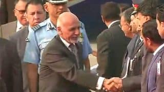 Afghanistan President Ashraf Ghani Arrives in Delhi to Talk Terror, Infrastructure With PM Narendra Modi