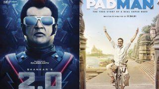 Will Rajinikanth's 2.0 Be Postponed Due To Akshay Kumar's Padman?