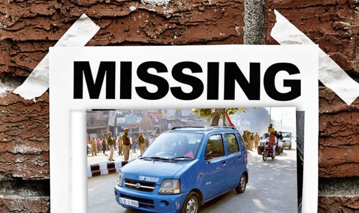 Arvind Kejriwal WagonR stolen