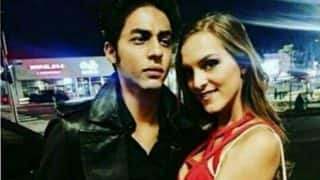 Viral Pic! Aryan Khan Poses Like A Gentleman With A Lady In Red