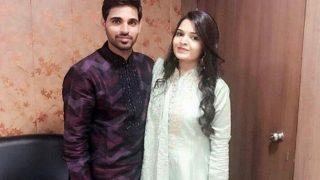 Bhuvneshwar Kumar Gets Engaged in Greater Noida