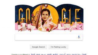बेग़म अख्तर का 103वां जन्मदिन मना रहा है गूगल, डूडल बनाकर इस खास अंदाज में किया याद