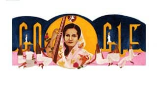 Google Dedicates A Noteworthy Doodle On The Occasion Of Begum Akhtar's 103rd Birthday Today
