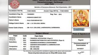 'Will Lord Ganesha sit for the exams?' Bihar University Student's Admit Card Has God's Photo And Signature