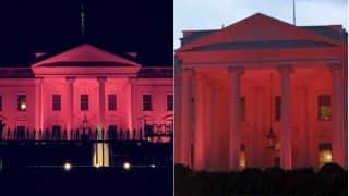 Breast Cancer Awareness Month: Pictures of United States White House Turning Pink on October 1st Explode Online