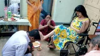 These Photos Of Differently-Abled Sister Blessing Her Brother On Bhai Dooj Has Left The Internet Delighted