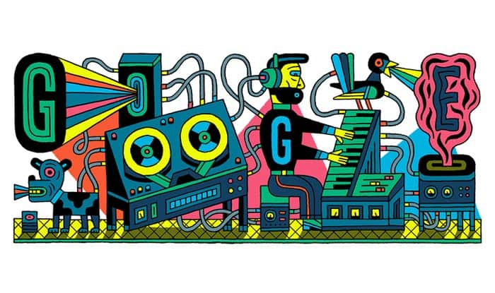 Google Doodle celebrates 66th anniversary of world's first electronic music studio