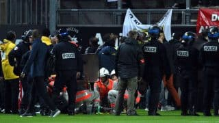 29 Hurt as French Stadium Barrier During Amiens vs Lille Football Match Collapses