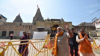 Narendra Modi in Gujarat News Updates: Want to Make Every Village Digitally Literate, Says PM Modi in Gandhinagar