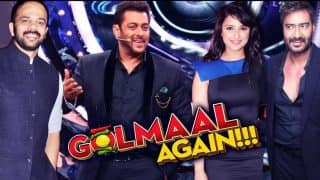 Bigg Boss 11: Ajay Devgn, Parineeti Chopra, Rohit Shetty And The Rest Of The Golmaal Again Cast To Distribute Gifts On Salman Khan's Show