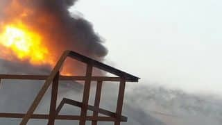 Mumbai: Fire at Butcher Island Continues Even After 36 Hours; Operations Underway