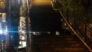 Mumbai: Staircase of Foot Overbridge Collapses at Charni Road Station, Two People Injured