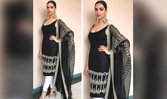 160b6e39795df Deepika Padukone At The Padmavati 3D Trailer Launch  What Makes Me Happy Is  That They