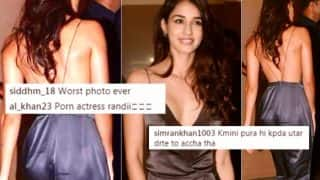 Disha Patani Called 'Porn Star' for Wearing Sexy Backless Jumpsuit: Actress Slut-Shamed for Flaunting 'Cleavage and Butt' in Picture