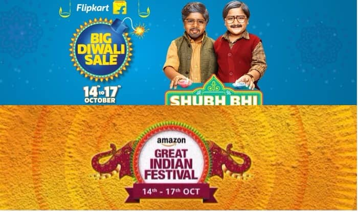 Diwali 2018 Flipkart Amazon Offer Bumper Sale On Top Brands At Unbeatable Prices From Nov 1 5 Check Deals Here India Com