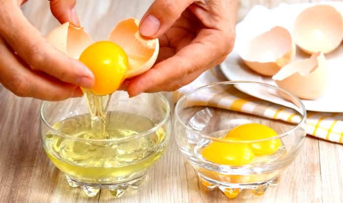 how to drink raw eggs