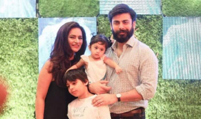 Fawad Khan and family