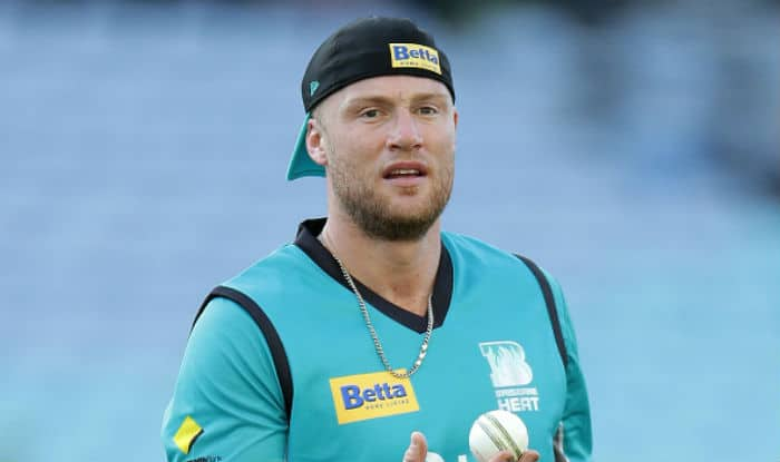 Andrew Flintoff during Big Bash League | Getty Images