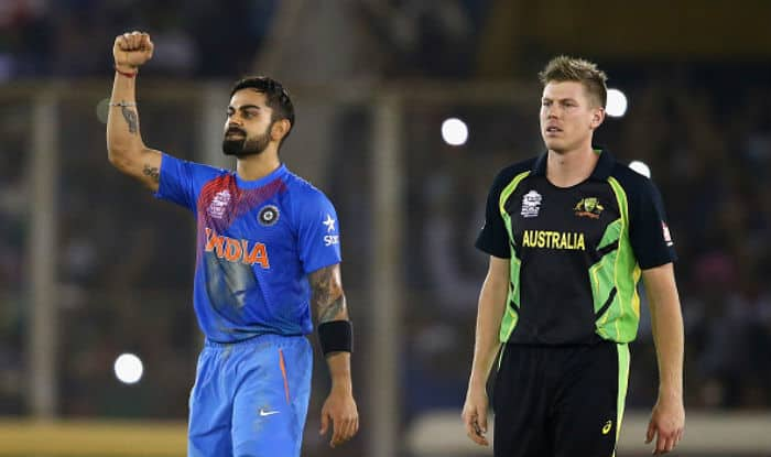 Virat Kohli celebrating during India vs Australia World T20 2016 match | Getty Images