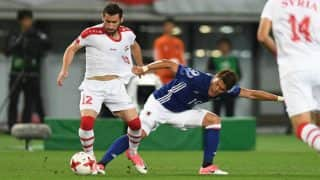 FIFA World Cup 2018 Qualifiers: War-Torn Syria Eye Miraculous World Cup Berth