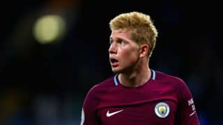EPL 2017-18: Kevin de Bruyne's 67th-Minute Goal Seals 1-0 Win for Manchester City Over Chelsea
