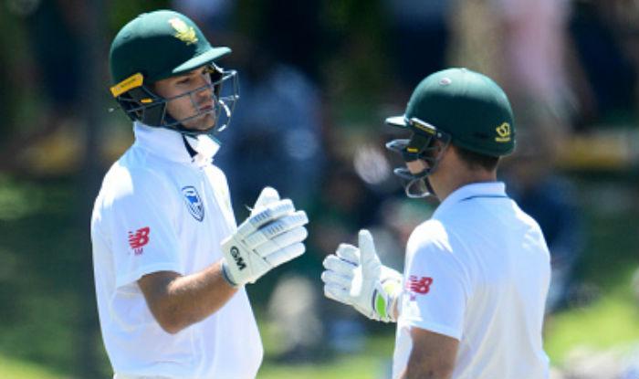 Elgar, Markram during South Africa vs Bangladesh 2nd Test | Getty Images