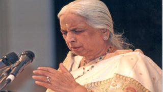 Legendary Thumri Singer, Girija Devi, Succumbs To Cardiac Arrest At The Age Of 88