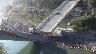 Himachal Pradesh: Rs 100 Crore Bridge Linking Chamba With Pathankot Collapses, 6 Injured