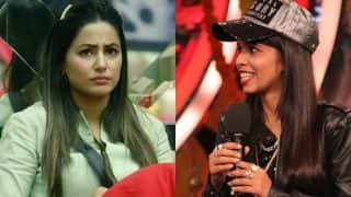 Bigg Boss 11: Is Hina Khan Miffed About Dhinchak Pooja's Entry In The House?