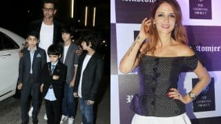 Ex-Couple Hrithik Roshan And Sussanne Khan Are Totally Twinning – View HQ Pics