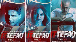 Ittefaq Posters: Sidharth Malhotra, Sonakshi Sinha, Akshaye Khanna's Look Has Upped Our Curiosity
