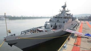 INS Kiltan Commissioned Into Indian Navy: Photos of India's New Anti-Submarine Warship