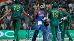 India Likely to Face Pakistan on June 16 in 2019 ICC World Cup