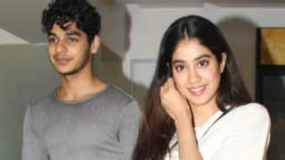 Jhanvi Kapoor And Ishaan Khatter Have Once Again Been Spotted Together - View Pic