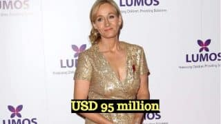 JK Rowling Tops Forbes Europe's Highest Paid Celebrities of 2017 List: Harry Potter Author Beats Cristiano Ronaldo For First Position