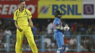 India vs Australia, 2nd T20I: Jason Behrendorff Rattles India's Top Order