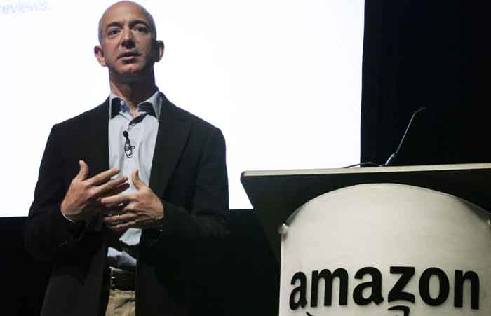 Jeff Bezos ousts Bill Gates as world's richest man