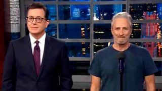 Comedian Jon Stewart Tries To Talk Positive On US President Donald Trump, Ends Up Calling Him A 'Sociopath' (Video)