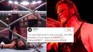 Kane Returns to WWE Raw Ahead of TLC 2017: The Big Red Machine Knocks Out Roman Reigns & Joins The Miz's Team