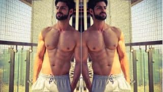 These Workout Photos of Hate Story 4 Actor Karan Wahi Will Give You Brand New Fitness Goals