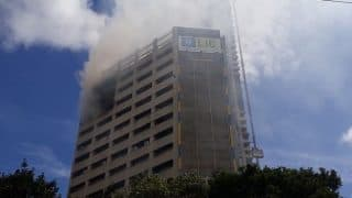 Kolkata: Fire Breaks Out at LIC Building on Jawahar Lal Nehru Road,  10 Fire Tenders at Spot