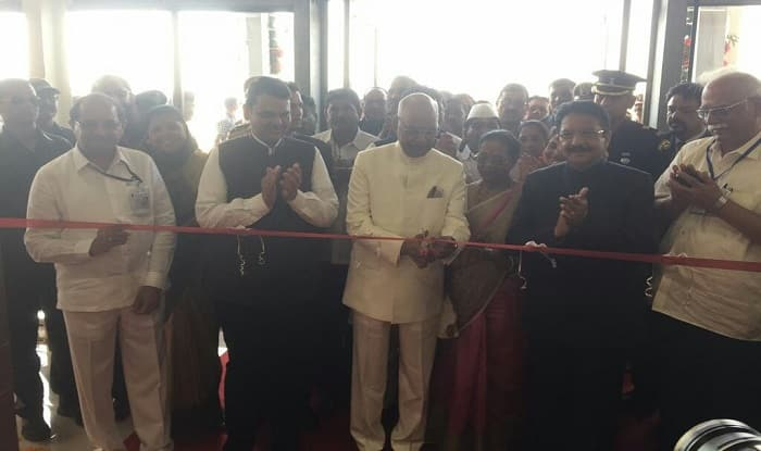 President Kovind declares Maharashtra open defecation free